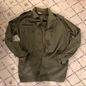 On Trend Olive Army Jacket